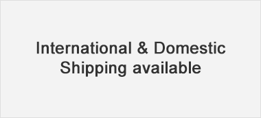 international and domestic shipping available